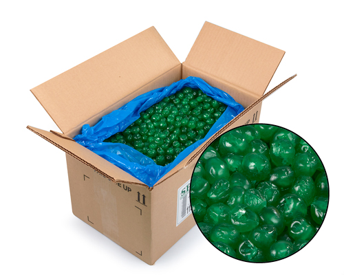 Whole Candied Green Cherries 15 Kg